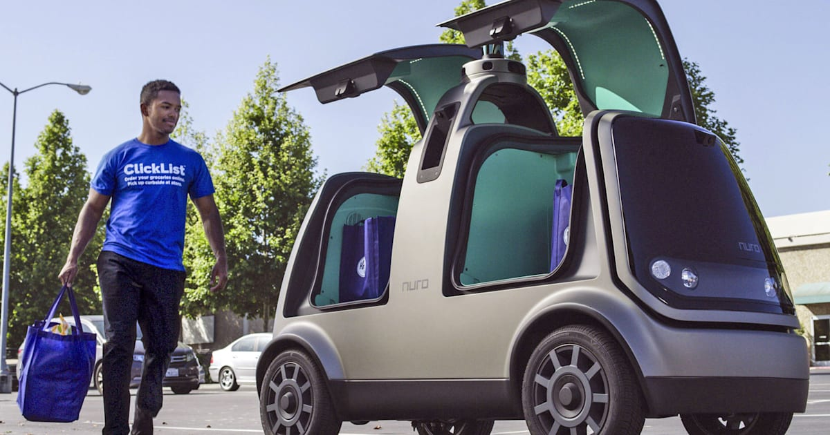 Kroger Starts Testing Self-driving Grocery Delivery in Arizona