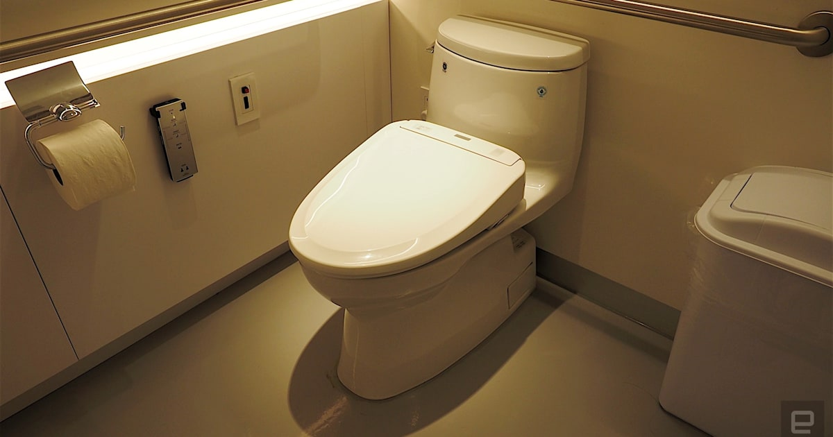 Toto hopes to woo you with its high-tech toilet showroom