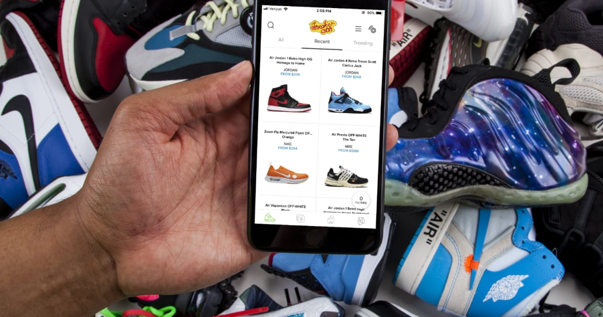 low cost 21816 2c7bc Sneaker Con bets NFC will keep fakes off its new shoe-selling app