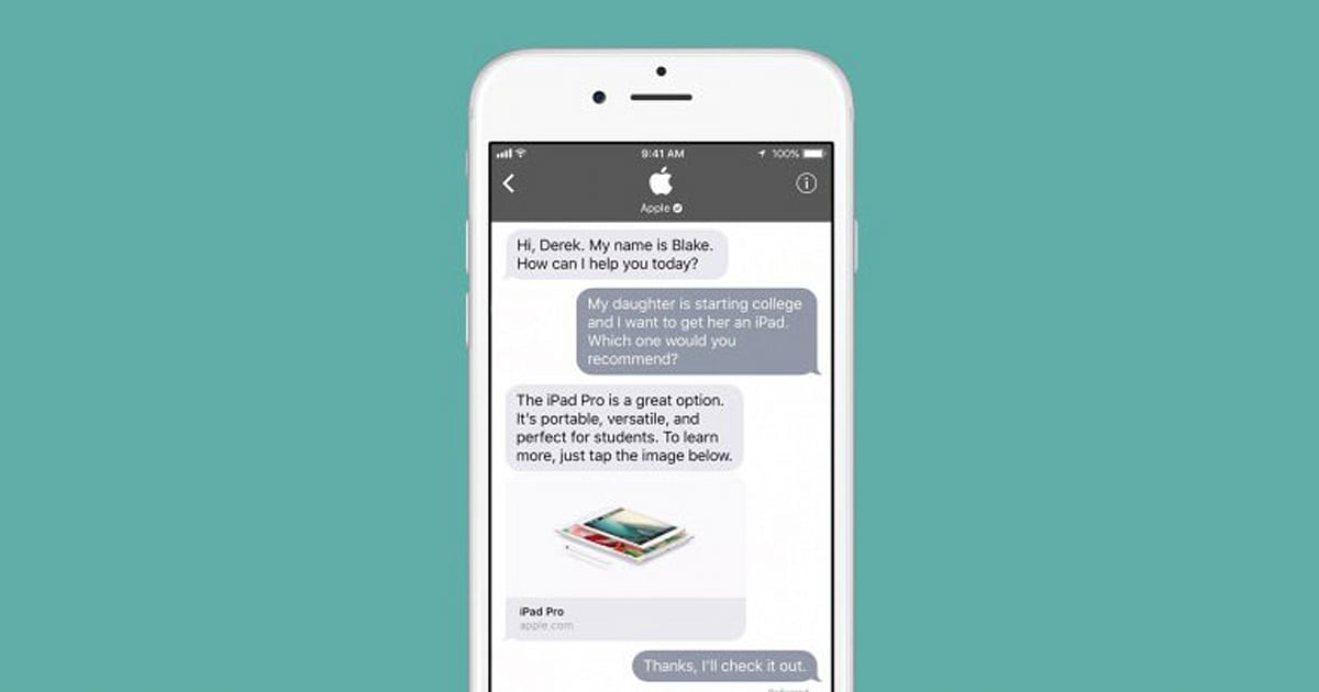 Apple launched Business Chat last year as a simple way for iOS users to communicate with companies over iMessage. Now, Apple has announced that there are 30 ...