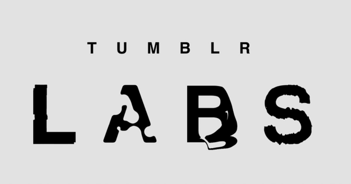 Tumblr Labs lets you experiment with new, optional settings