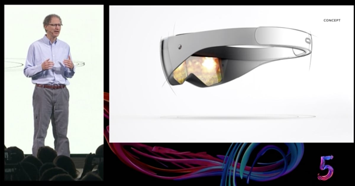 Oculus predicts a VR future that includes ultra-thin headsets