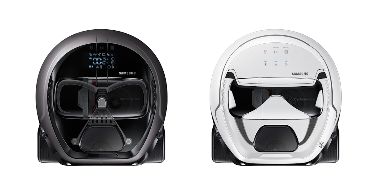 Samsung S New Robot Vacuums Banish Darth Vader To Cleaning