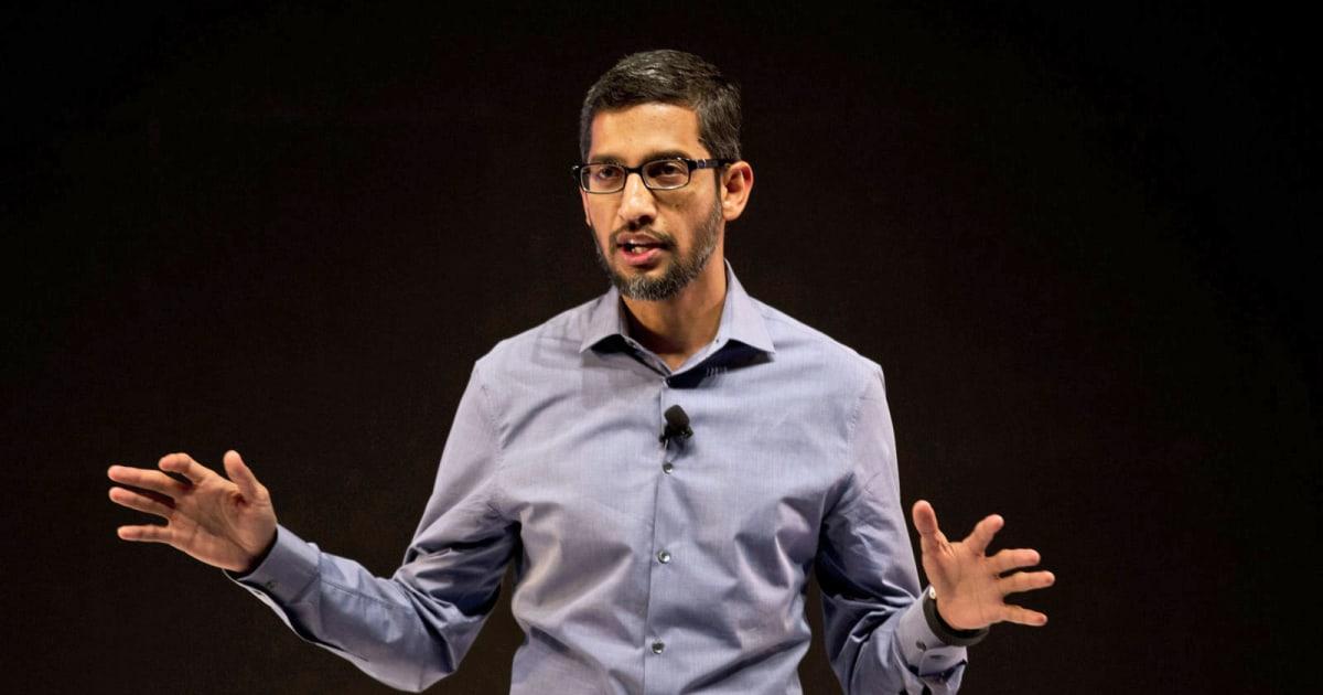 Google S Sundar Pichai Latest Target Of Social Media