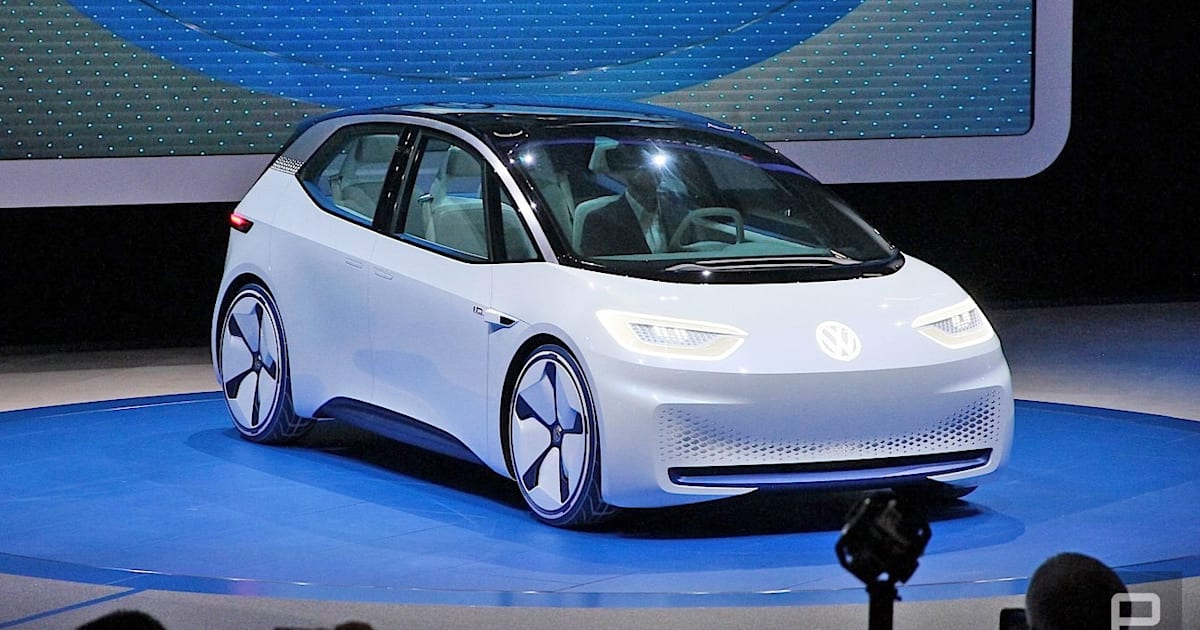 VW Hopes To Sell 10 Million Electric Cars Based On Its New