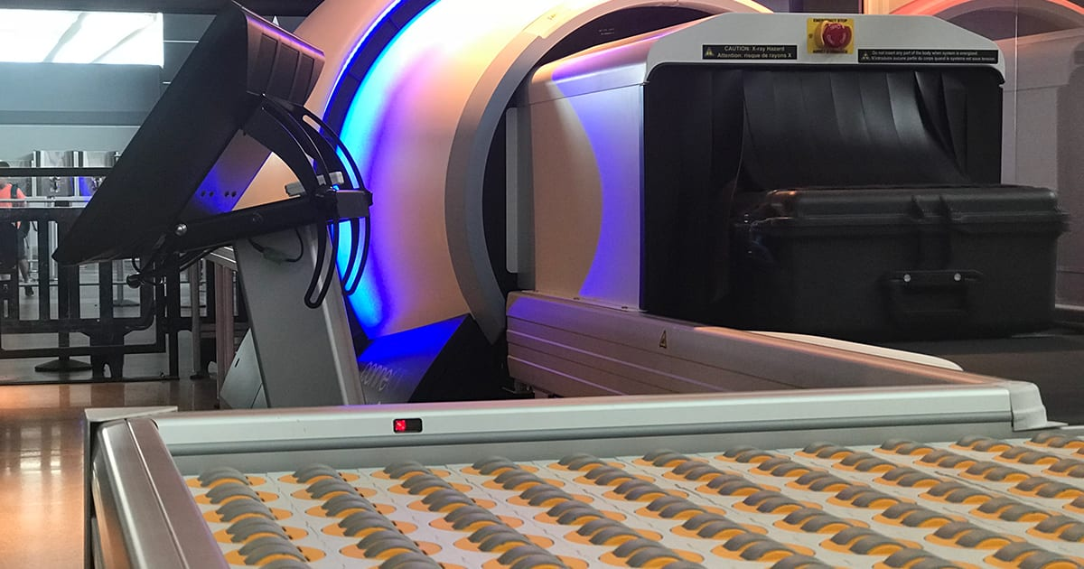 New York S Jfk Airport Will Screen Luggage With A Ct Scanner