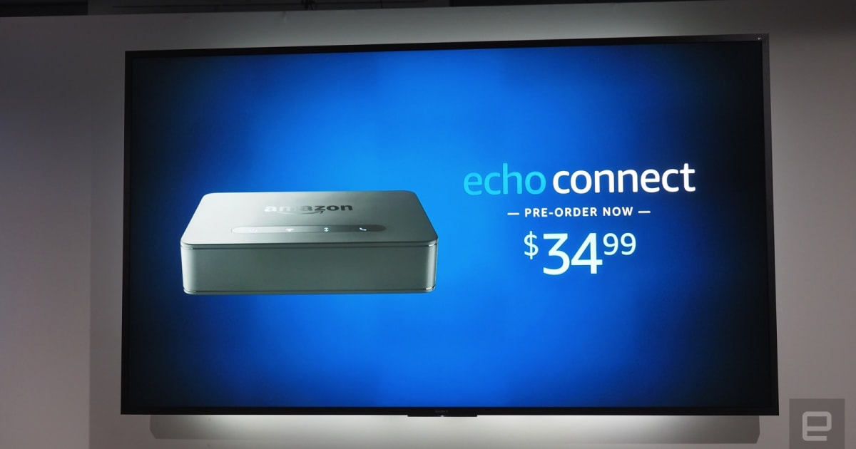 amazon 39 s echo connect is a smart speakerphone for landlines. Black Bedroom Furniture Sets. Home Design Ideas