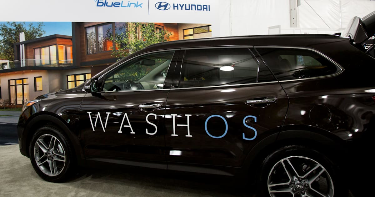 hyundai adds on demand car washes to its blue link service. Black Bedroom Furniture Sets. Home Design Ideas
