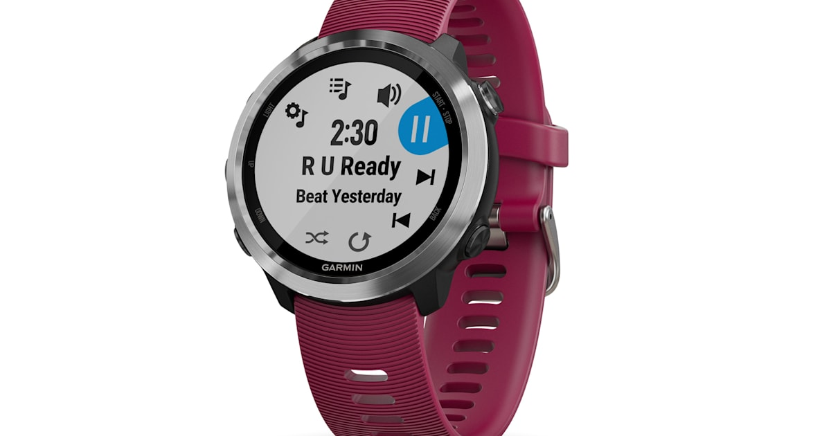 908956ed000 Garmin s latest smartwatch can play music during your run