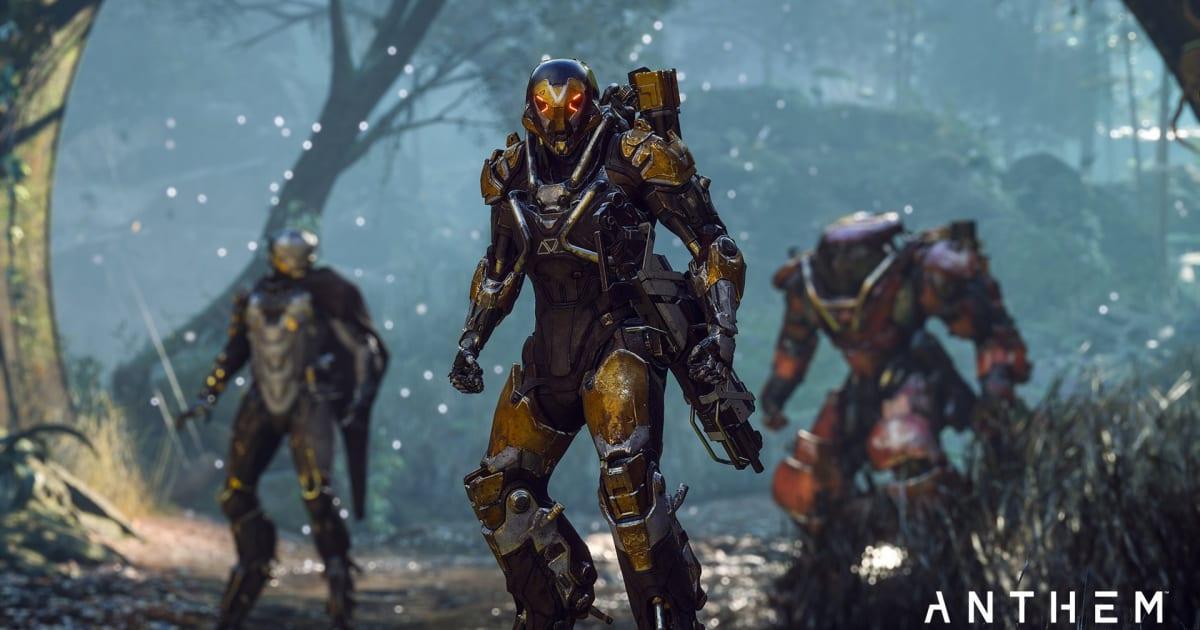 EA Delays 'Anthem' Until 2019