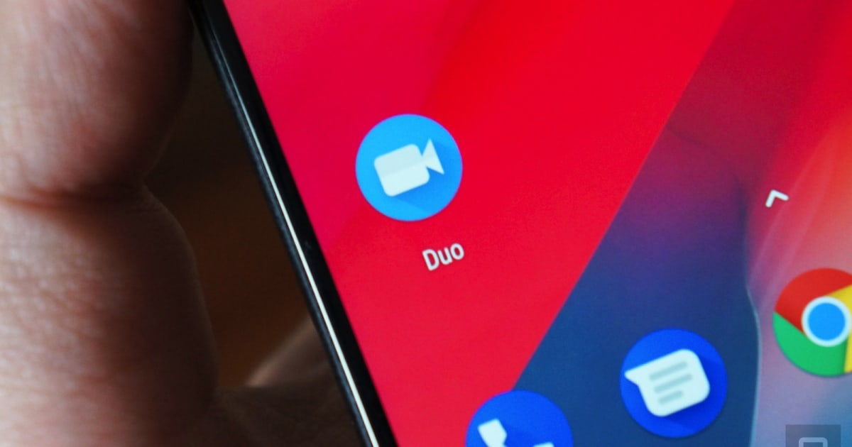 Google Duo Can Share your Android Phone's Screen