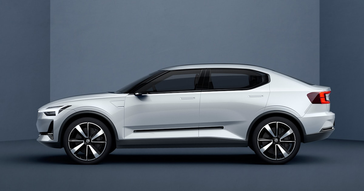 volvo 39 s all electric polestar 2 will go up against the model 3. Black Bedroom Furniture Sets. Home Design Ideas