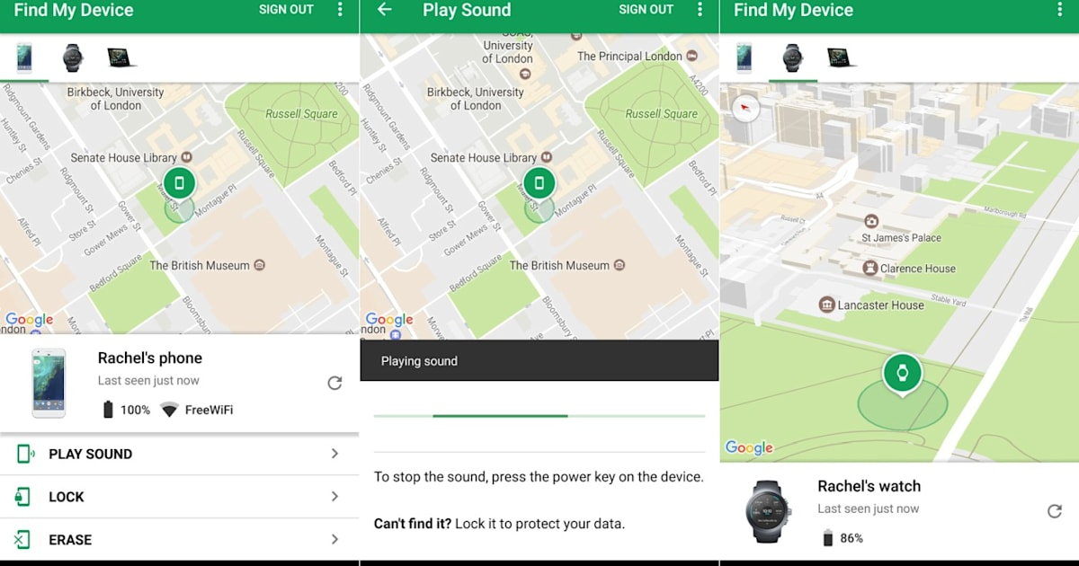 Android Device Manager Has A New Name Find My Device