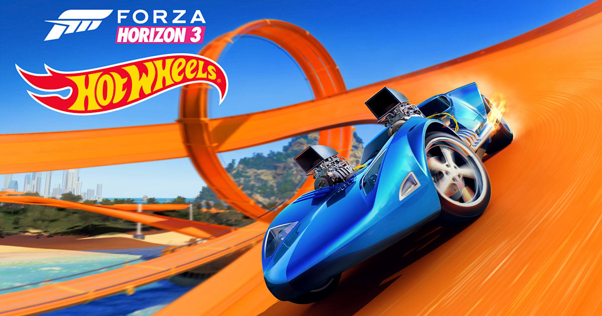 You're not too old to play with Hot Wheels in 'Forza Horizon 3'