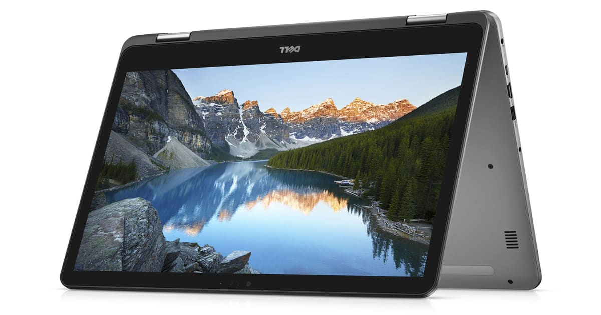 Dell's Latest Inspiron PCs Include the First 17-inch 2-in-1