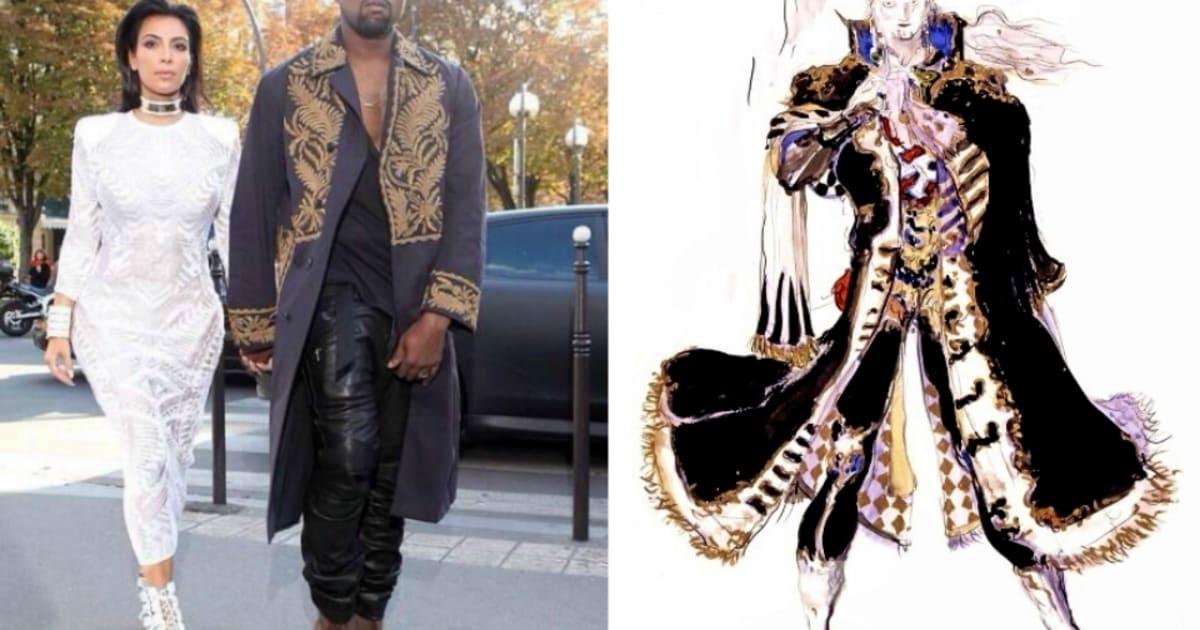 930331daf7d Seven times Kanye West dressed like a  Final Fantasy  character