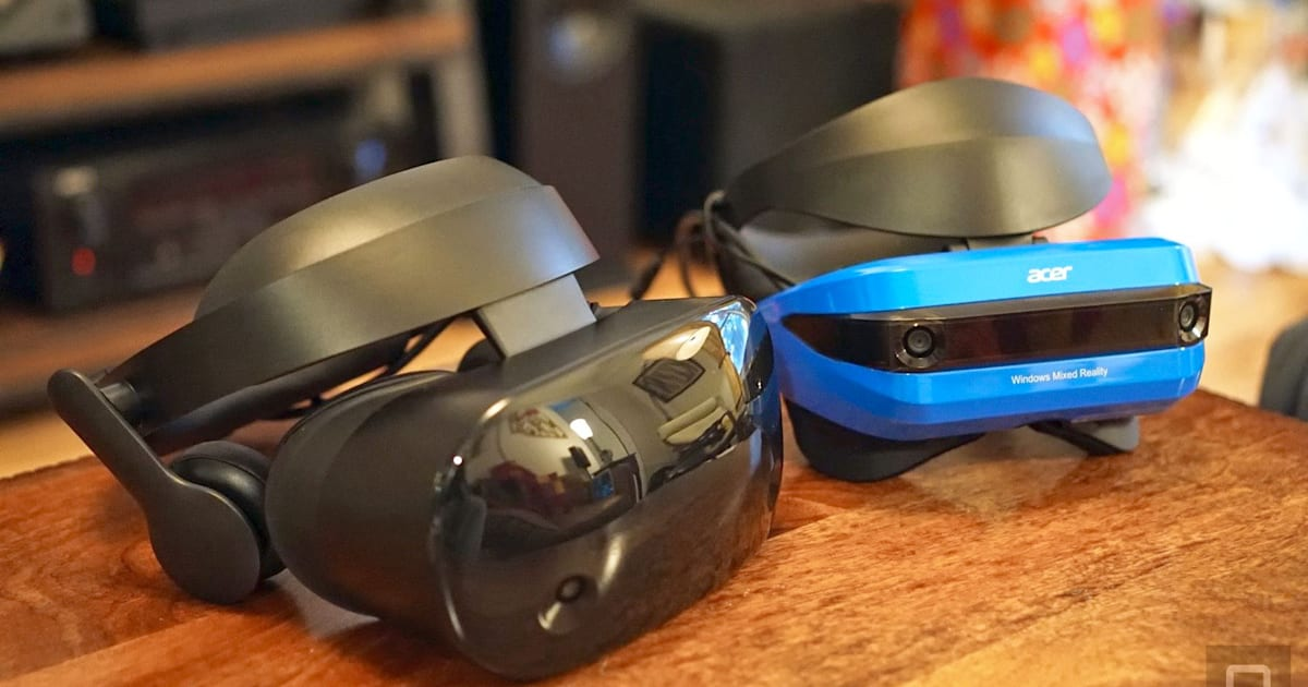 Samsung Vs Acer Mixed Reality Headsets Which Handles Vr