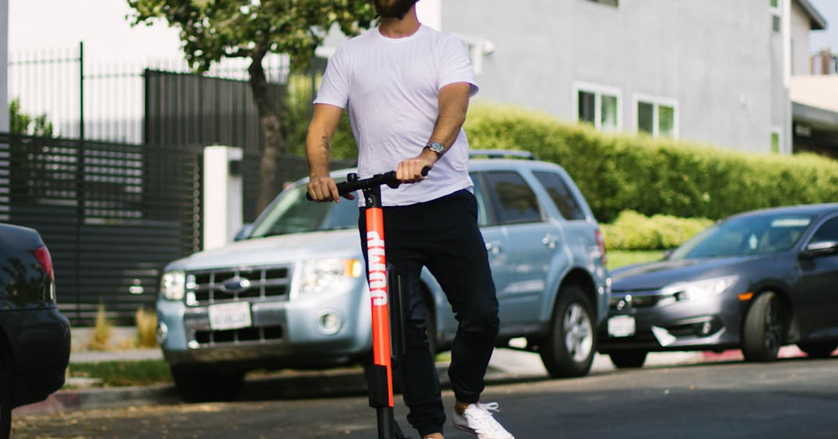 How To Get Lyft Amp >> Uber launches its first electric scooter service in Santa ...