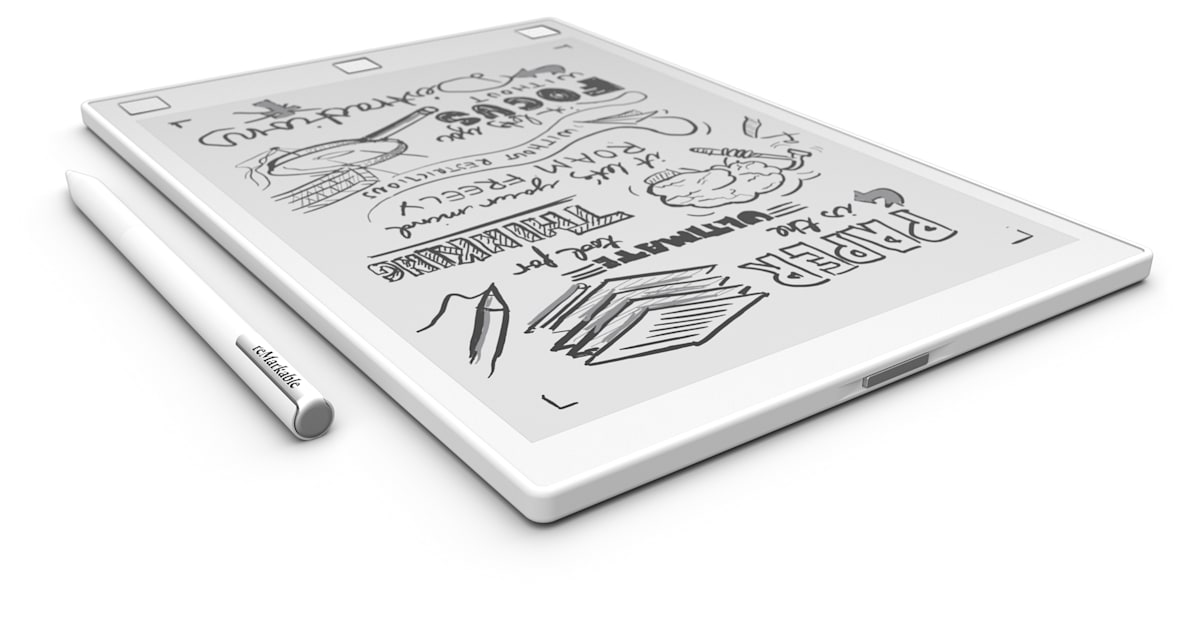 Digitize Your Doodles With An E Reader You Can Draw On