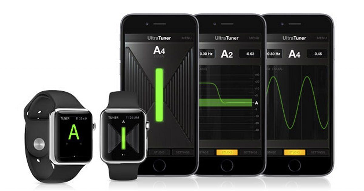 your apple watch can help you tune a guitar. Black Bedroom Furniture Sets. Home Design Ideas