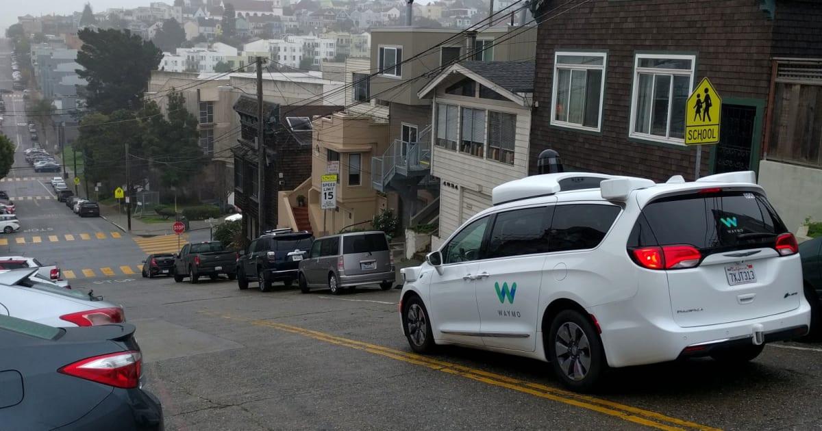waymo starts testing self driving minivans in san francisco. Black Bedroom Furniture Sets. Home Design Ideas