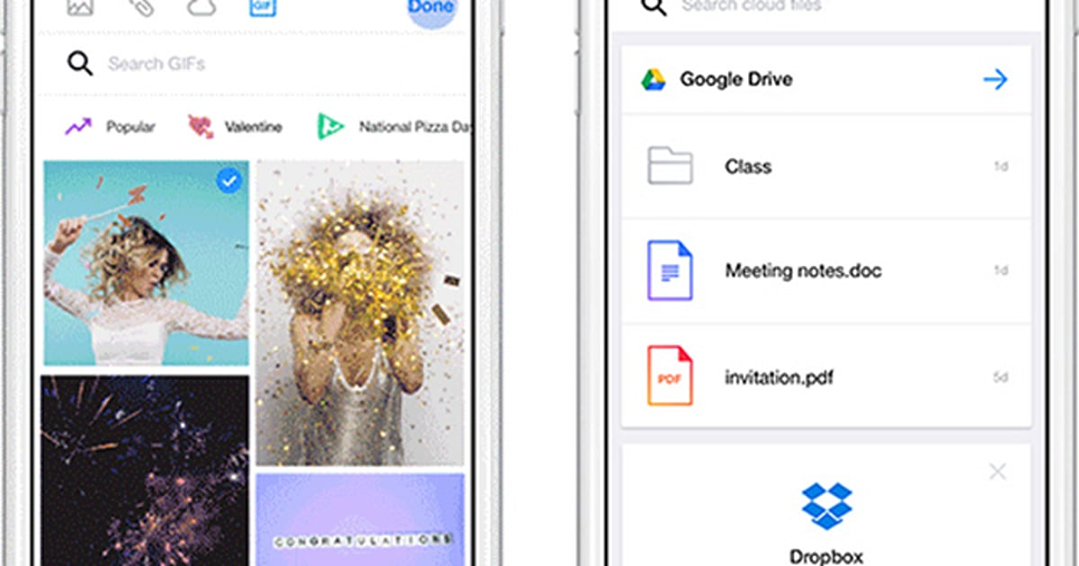 Drop Google Drive files and GIFs into your Yahoo emails