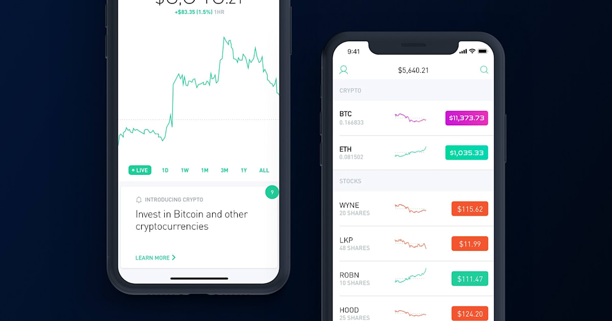 Robinhood The App That Lets You Make Zero Fee Stock Trading And Tracking Is Moving Into A New Market Cryptocurrencies Next Month Users In Select US