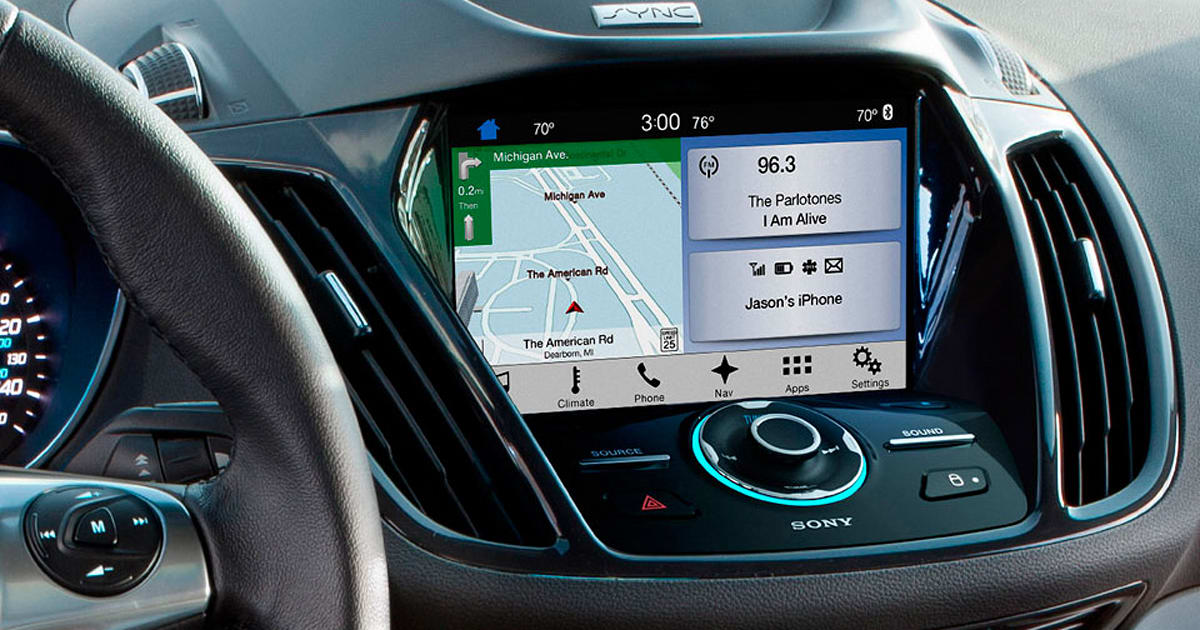 android auto y car play llegan a ford con sync 3. Black Bedroom Furniture Sets. Home Design Ideas