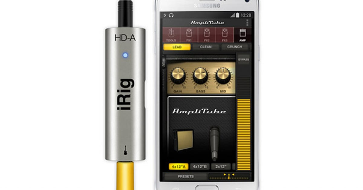 the irig hd a equips android users for mobile guitar recording. Black Bedroom Furniture Sets. Home Design Ideas