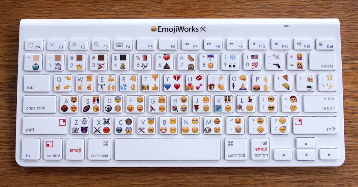 Here's A Physical Emoji Keyboard That Costs $100