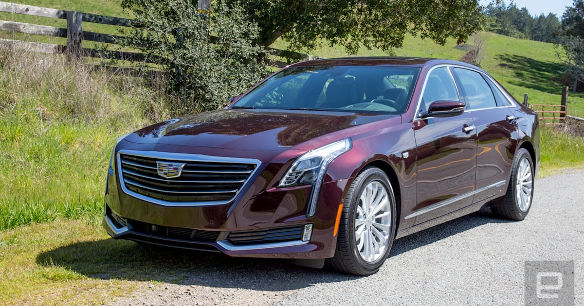 Cadillac Goes Green with the CT6 Plug-In Hybrid
