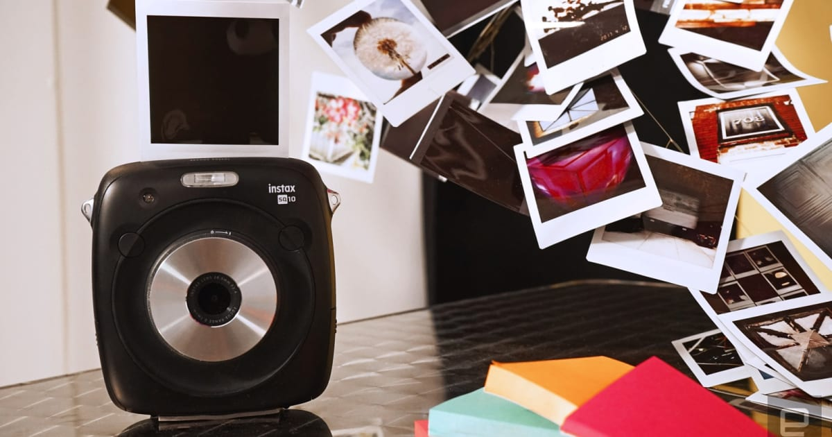 Fujifilm's SQ10 is an Instant Camera for the Instagram Generation
