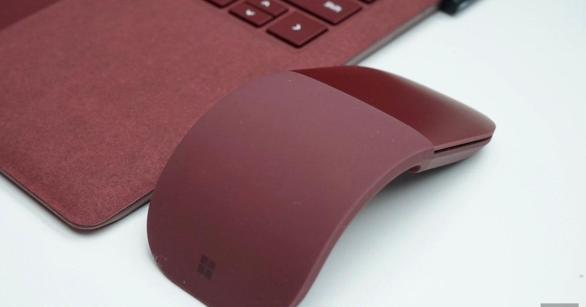 microsoft arc bluetooth mouse manual