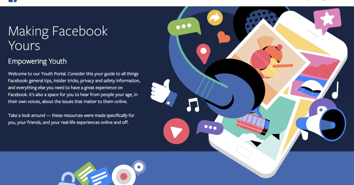 Facebook launches 'Youth Portal' with privacy tips for teens