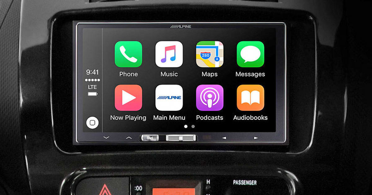 alpine 39 s latest receiver brings wireless carplay to all. Black Bedroom Furniture Sets. Home Design Ideas