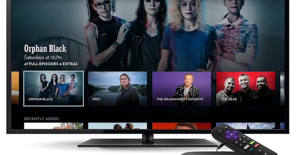 BBC America Streams 'Top Gear' and 'Orphan Black' on Roku