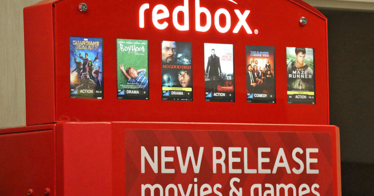 Redbox Bets DVD Rental Kiosks Are Making A Comeback