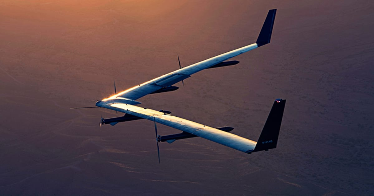 Facebook successfully lands its Aquila drone for the first time
