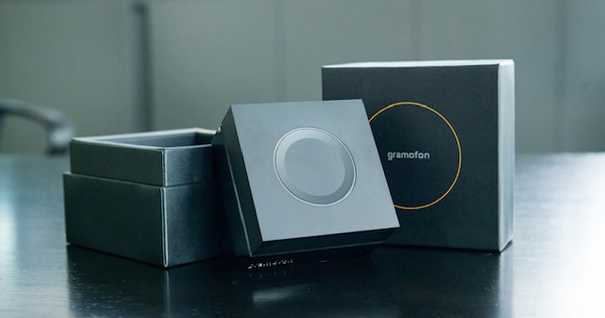 The Gramofon Is A Streaming Music Hub That Ll Also Extend