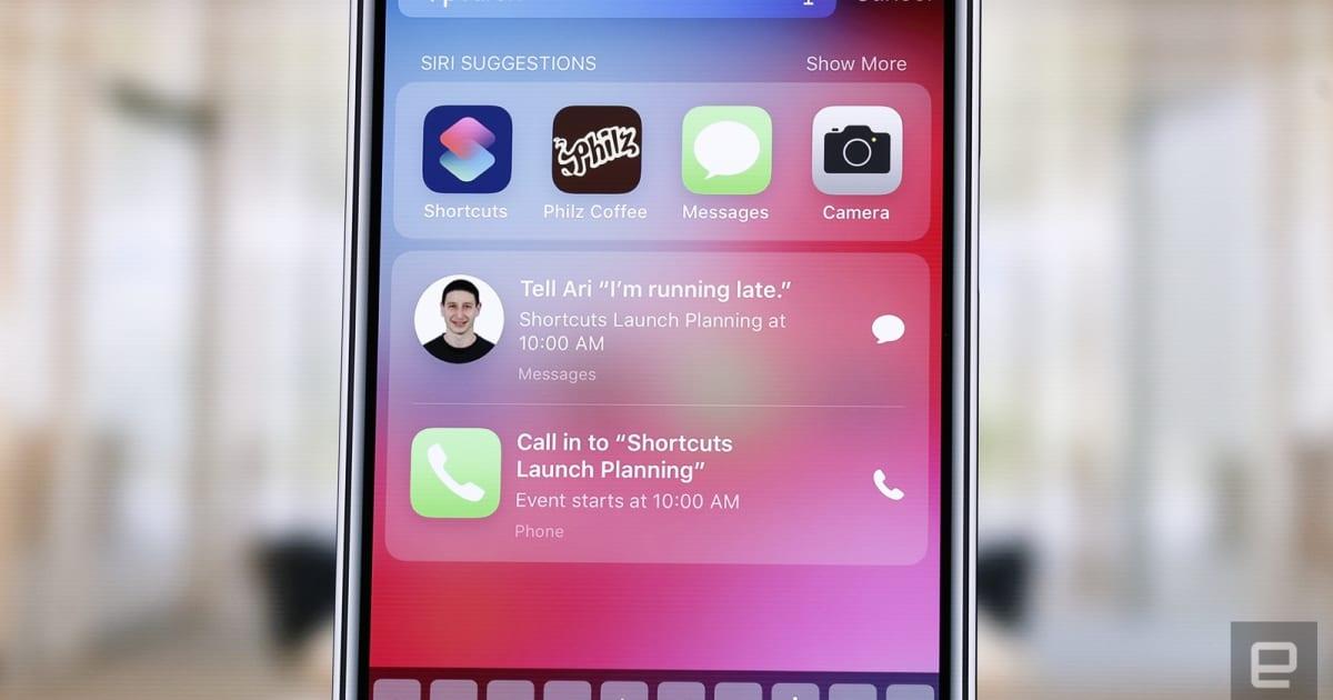 Apple Siri Shortcuts in iOS 12  Native iOSHomebridge