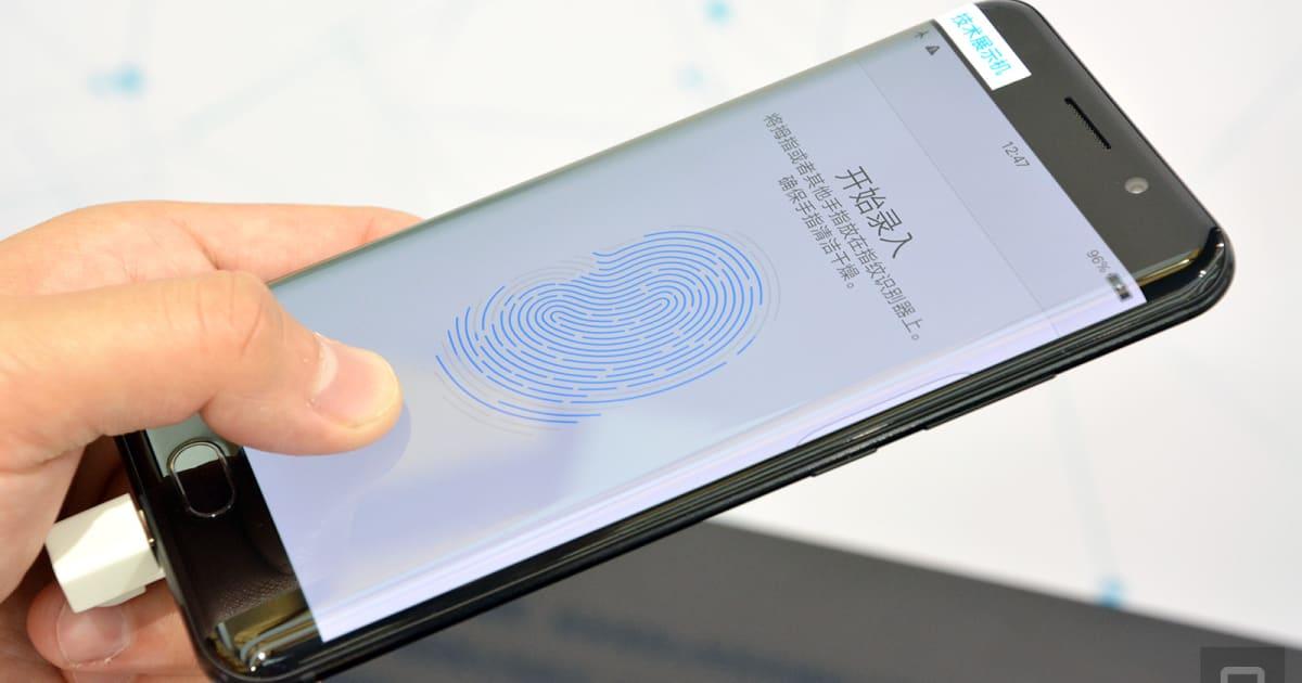 Vivo Beats Apple to an Under-display Fingerprint Scanner