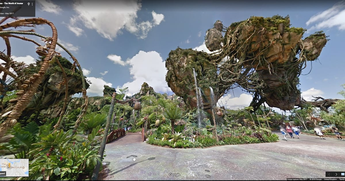 Google Adds Disney Parks to Street View