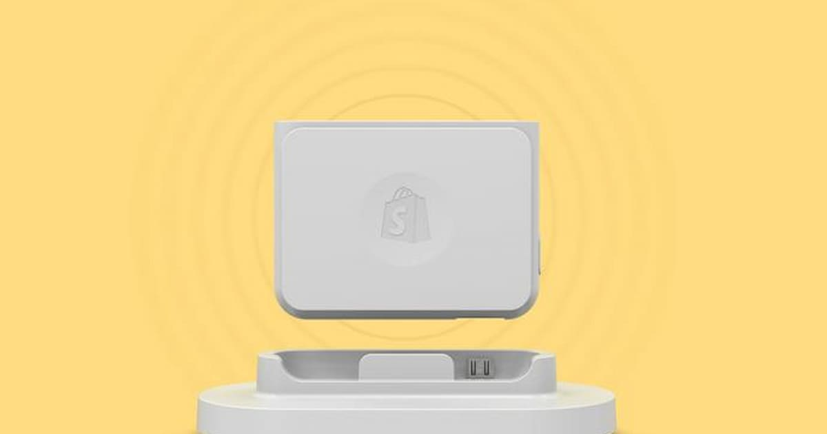 Shopify goes after square with a new mobile credit card reader reheart Images