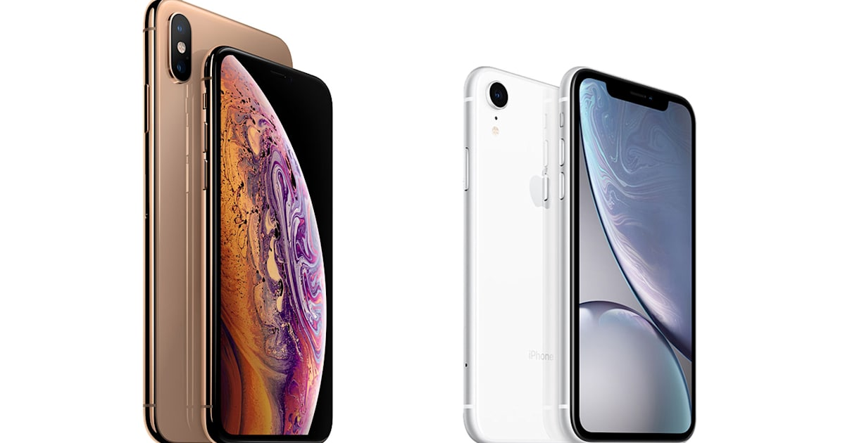 Comparing the iPhone XS, iPhone XS Max and iPhone Xr