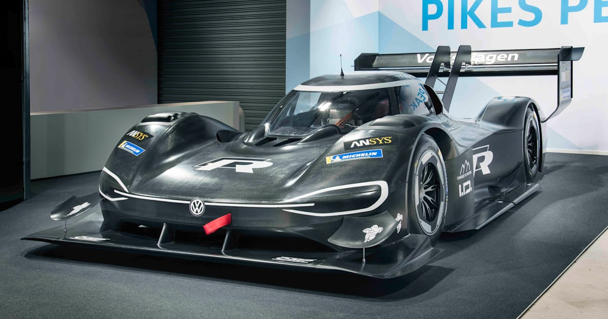 VW\'s electric Pikes Peak racer accelerates faster than an F1 car