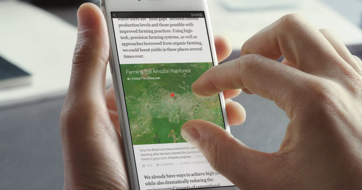 Facebook will allow news subscriptions on Instant Articles