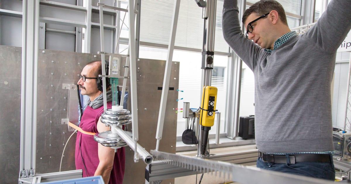 German Robot Practices Hitting Humans To Ensure Future Safety
