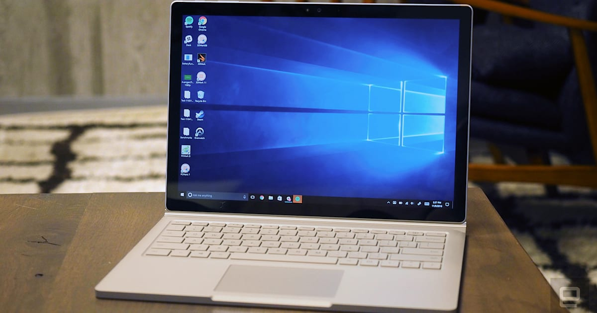 Microsoft's Best Surface Book Finally Comes to the UK