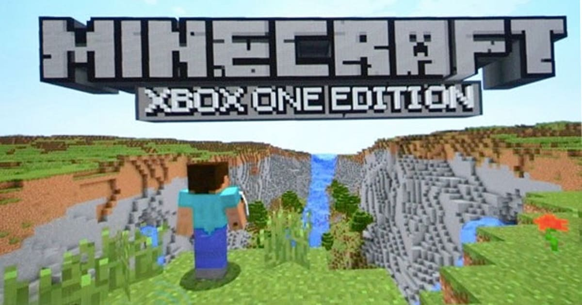 Minecraft' hits Xbox One this Friday and an upgrade only