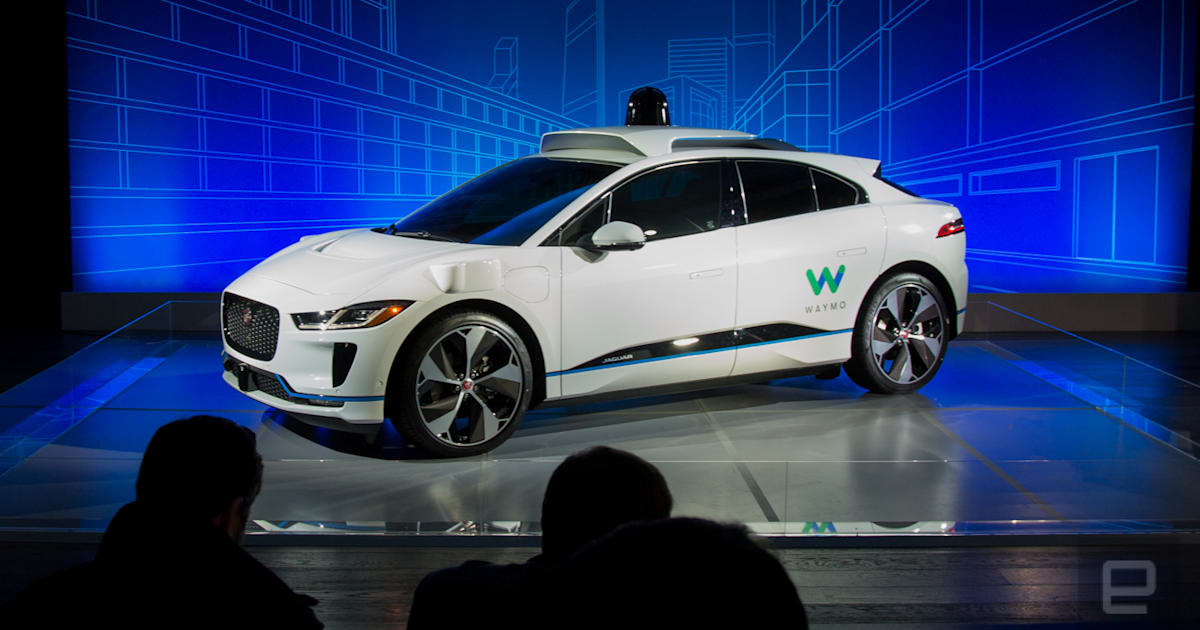 Waymo And Jaguar Will Test Self Driving I Pace SUVs Later